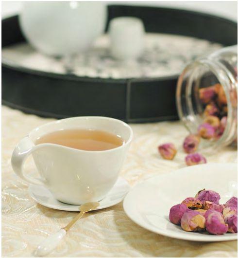 牡丹花茶美容养颜、减缓衰老茶疗功效