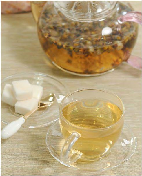 桃花茶调节经血、减肥瘦身茶疗功效