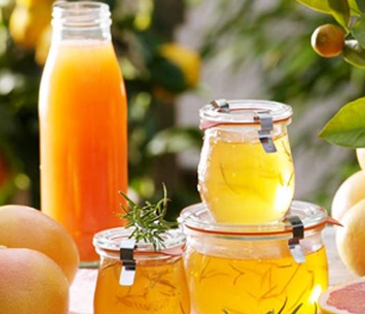 自制蜂蜜柚子茶润燥美白又祛斑