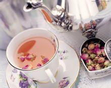 玫瑰花茶的制作方法