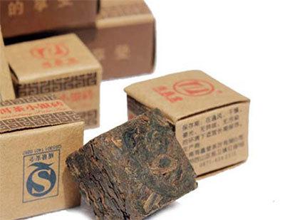 熟普洱茶茶砖的泡法