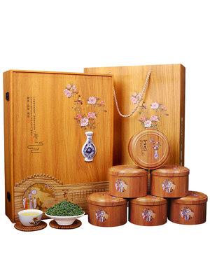 新茶安溪铁观音茶叶浓香型兰花香送礼盒装散装乌龙茶小包装500g