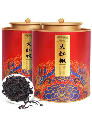 新茶大红袍茶叶武夷岩大红袍肉桂散装乌龙茶浓香型岩茶罐装礼盒装