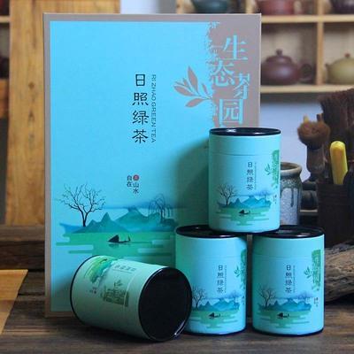 2020年日照绿茶新茶礼盒装500g 125gx4罐