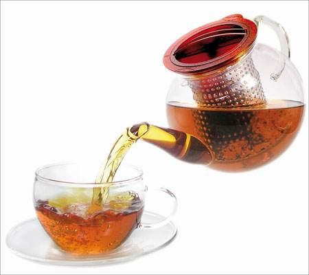 怎么区别茯茶的好坏?此图为茯茶世家茯茶的汤色展示