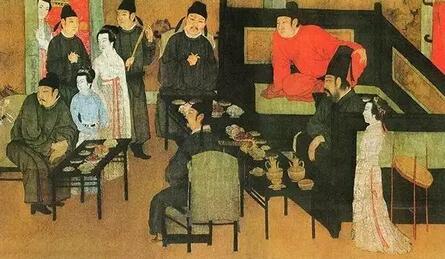 古画上的人是怎么喝茶的?