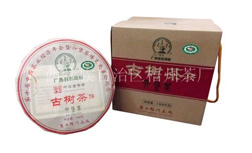 梧州三鹤六堡茶古树茶饼介绍及参考价格