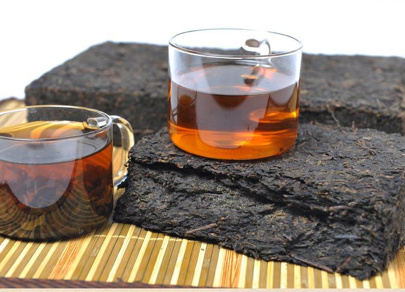 黑茶种类黑毛茶介绍可分成篓装砖形和其他形状