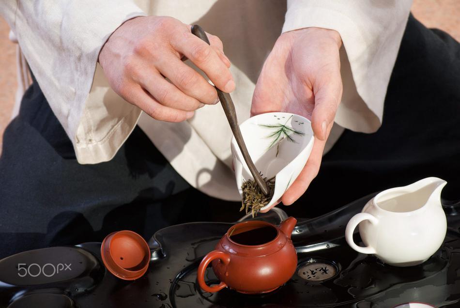 绿茶泡法之茶壶泡绿茶