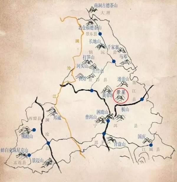 墨江凤凰窝,一款非典型的普洱名茶