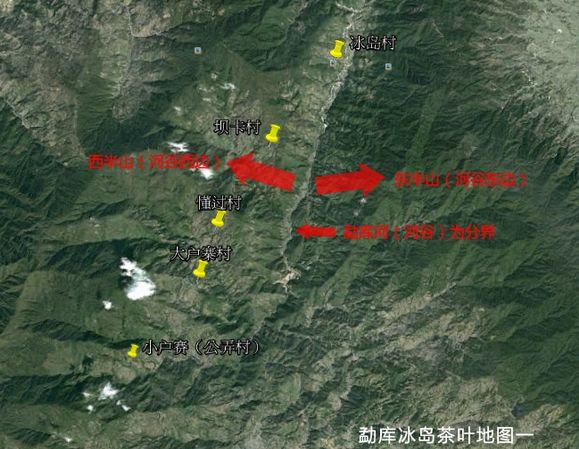 勐库东半山、西半山普洱茶介绍
