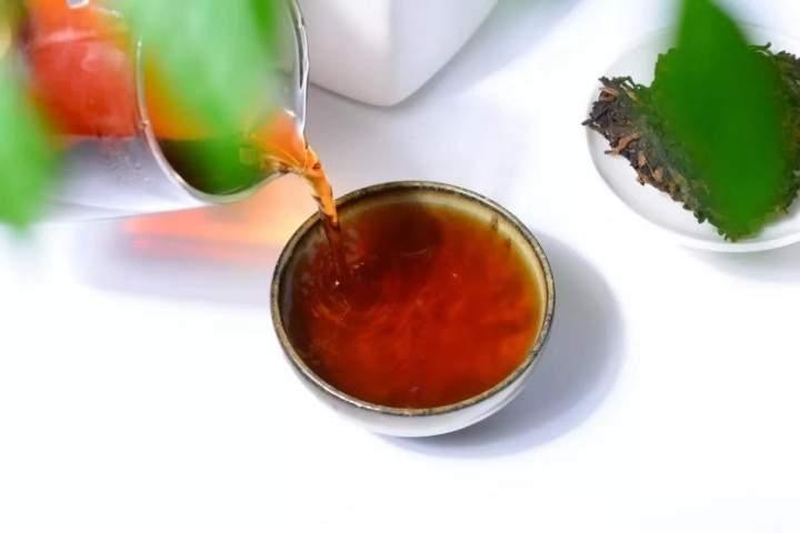 寻味 喝一杯祁红砖茶,收获满满的幸福感