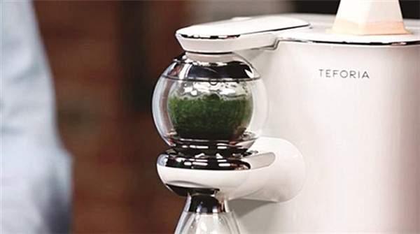 Teforia泡茶机:高科技与茶擦出的别样火花