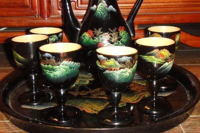 漆器茶具能不能泡茶揭秘那些绚丽夺目的漆器茶具