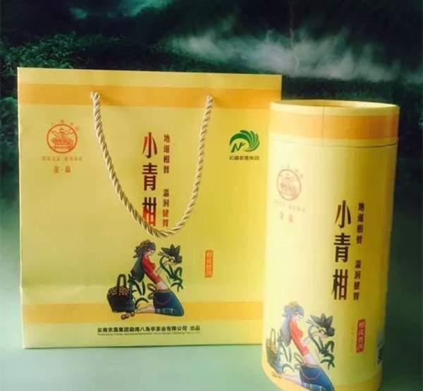 品鉴|2017年八角亭黎明茶厂金品小青柑