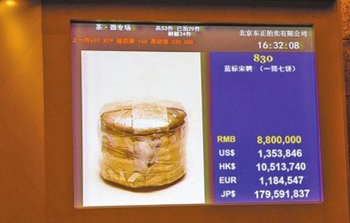 7542大益普洱茶市场价格分析