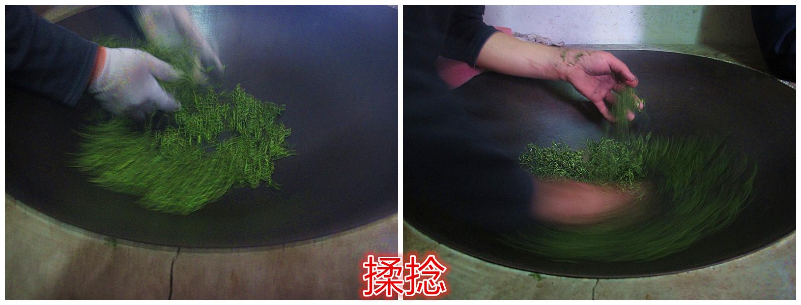 产地茶农如何手工炒制碧螺春