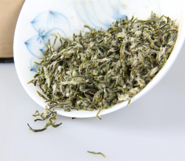 洞庭碧螺春茶的外形特征