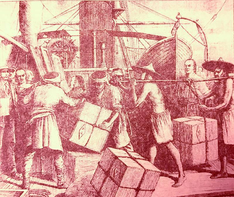 正山小种红茶是美国独立战争直接诱因