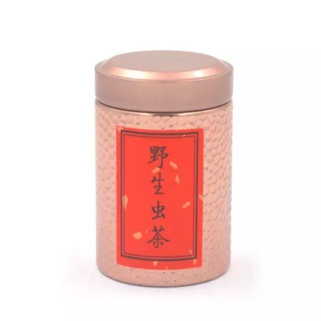 【限时促销】十年陈野生虫茶品鉴装特惠价:88元/罐
