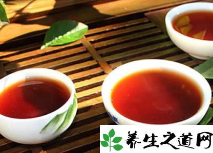 普洱茶独有的暖胃功效