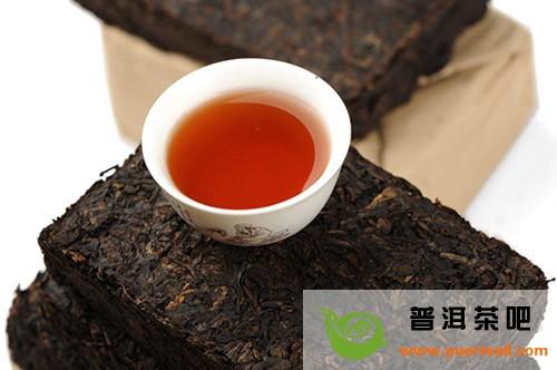 详解普洱茶砖的泡法