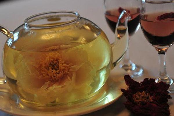 牡丹花茶的泡法牡丹花茶搭配什么比较好
