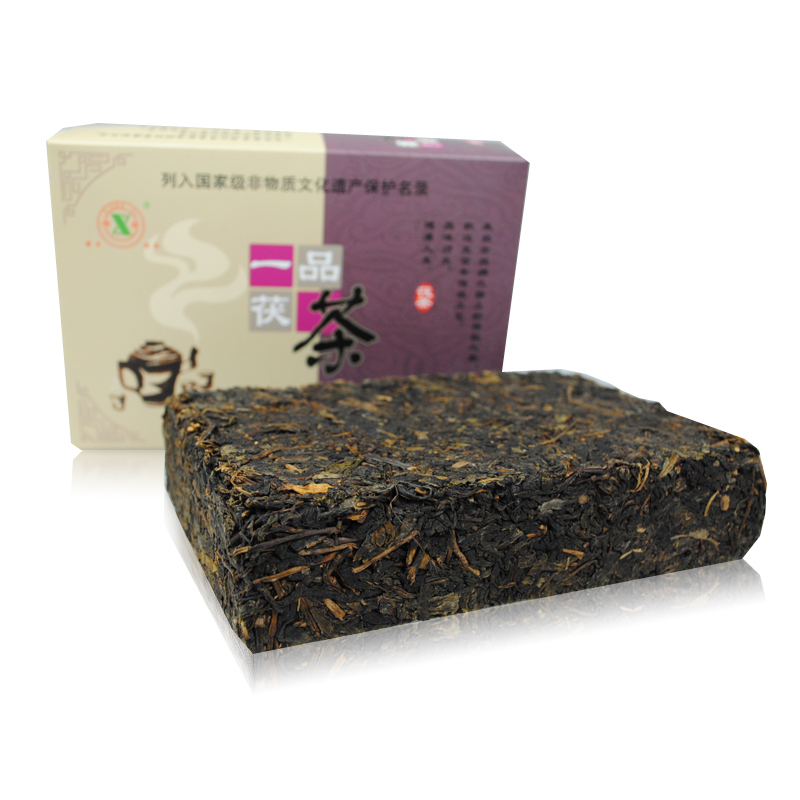 详细介绍能自然发花的安化黑茶