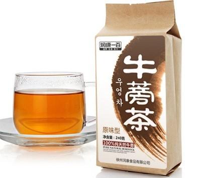 电脑族必备的保健茶——牛蒡茶