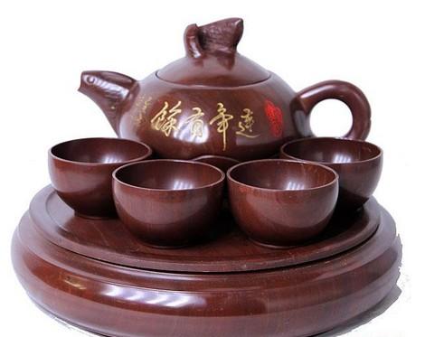 木鱼石茶具的三大保健作用介绍
