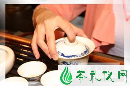 普洱茶:表演型冲泡