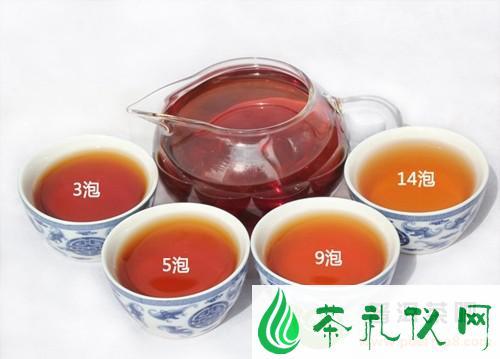 普洱茶的5种味道