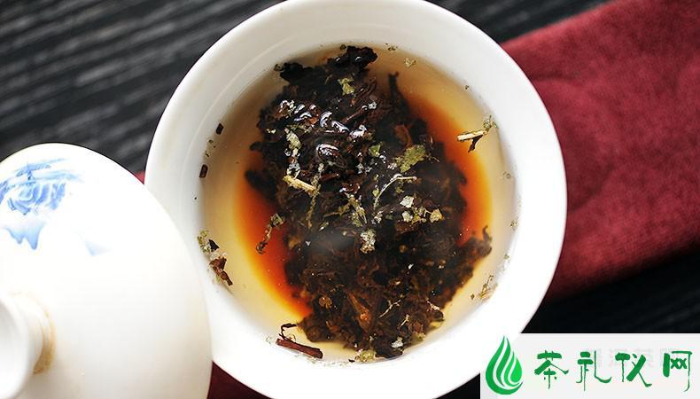 普洱茶定义为后发酵茶
