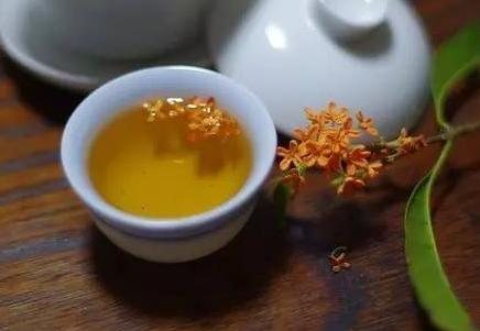 制作桂花茶的方法!