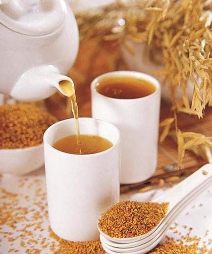 苦荞茶的营养价值高,男女老少均可饮用