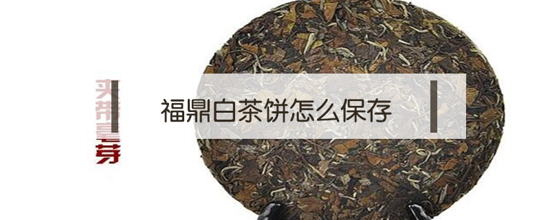 福鼎白茶饼怎么保存