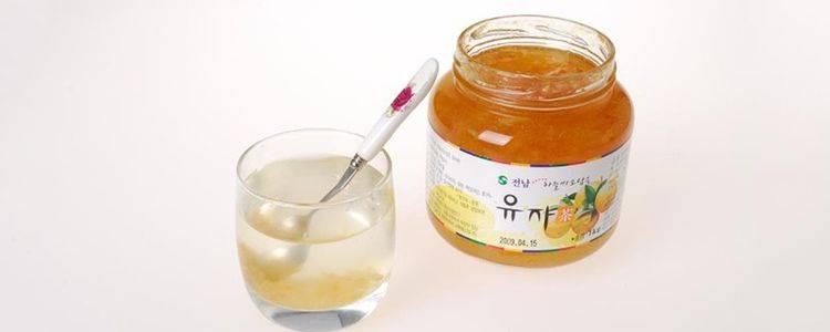 柚子茶窍门
