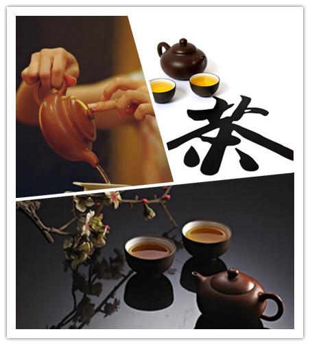 中国茶道礼仪表现有三种 别离为煎茶斗茶和功夫茶