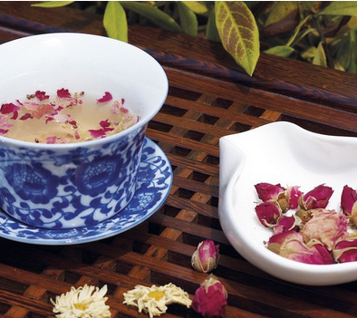 玫瑰花茶冲泡方法