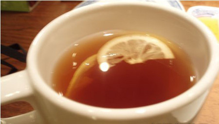 柠檬红茶图片