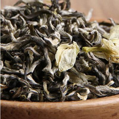 保证金银花茶不变黑的制作方法