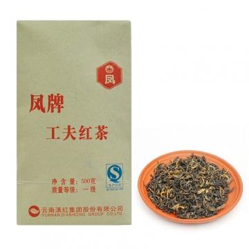 凤牌滇红茶 工夫红茶 500克/筒