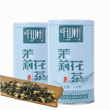 [买一送一]千山叶 茉莉花茶 125克/罐 2罐