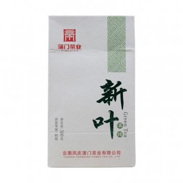 蒲门 云南滇青绿茶 枝新新叶 300克/包