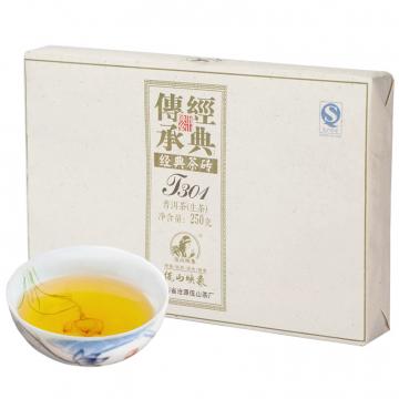 2013年佤山映象 T301 生茶 250克/砖