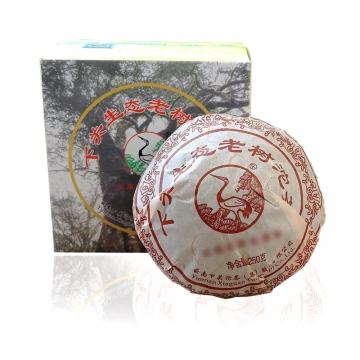 2012年下关  生态老树沱 生茶 250克/盒