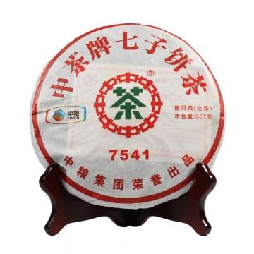2011年中茶 7541 生茶 357克/饼