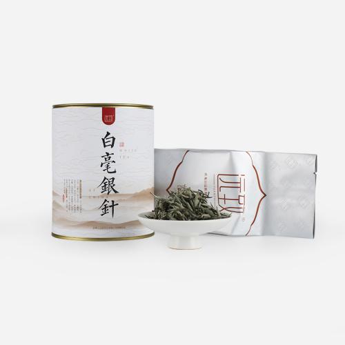 福鼎白毫银针 明前新茶 自饮铁罐装80g