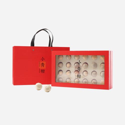 普洱茶-新会小青柑红盒24粒装-送礼高大上