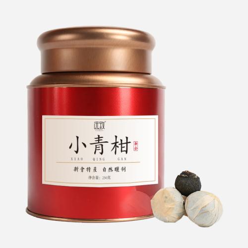 普洱茶新会小青柑-铁罐装250g